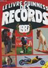 Le Livre Guinness Des Records 1987.