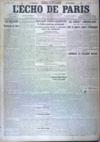 Presse - Echo De Paris (L') N°11921 du 06/04/1917