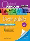 Droit public ; catégorie B