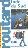 Guide Du Routard ; Indu Sud (Edition 2003)