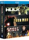 DVD & Blu-ray - L'Incroyable Hulk + Iron Man + Ghost Rider