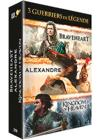 DVD & Blu-ray - Guerriers De Légende - Coffret 3 Films : Alexandre + Braveheart + Kingdom Of Heaven