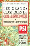 Grands classiques chimie/thermo psi