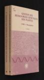 Gestion des ressources génétiques des plantes (tome I : Monographies ; tome II : Manuel) (2 volumes)