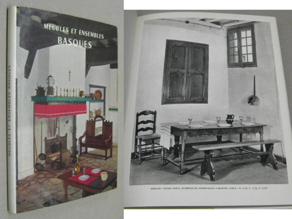 livre meubles et ensembles basques notice pour le basque espagnol par luis de uranzu. Black Bedroom Furniture Sets. Home Design Ideas