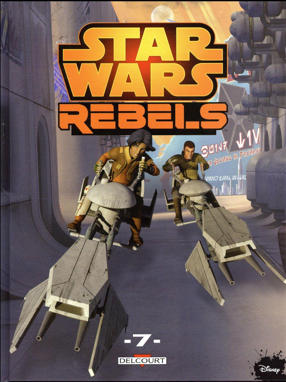 Star Wars - rebels T.7  - Collectif