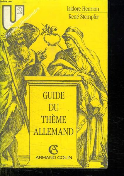Guide Theme Allemand  - Henrion