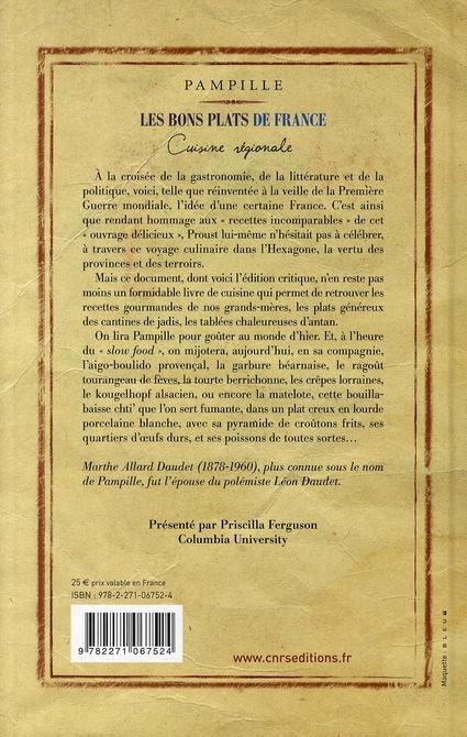 Livre les bons plats de france cuisine r gionale - Livre de cuisine francaise ...