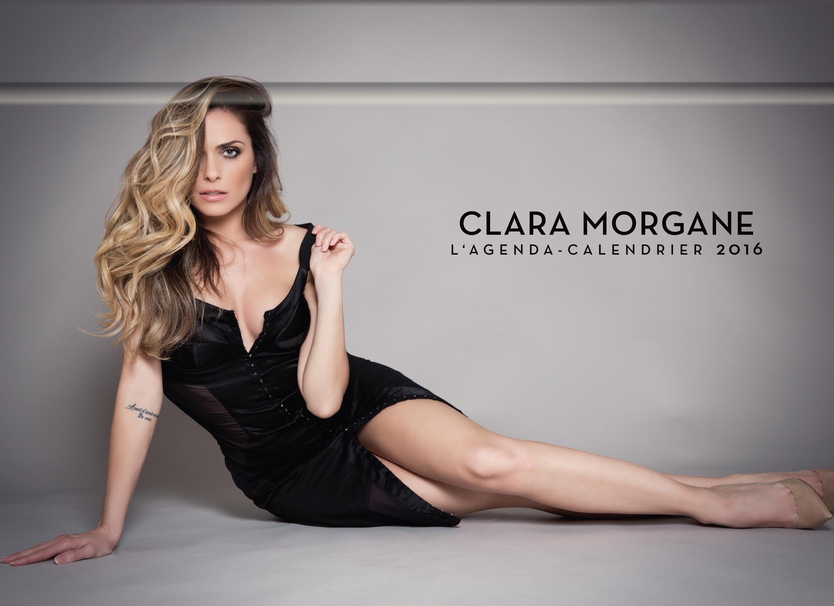 livre l 39 agenda calendrier 2016 clara morgane collectif. Black Bedroom Furniture Sets. Home Design Ideas