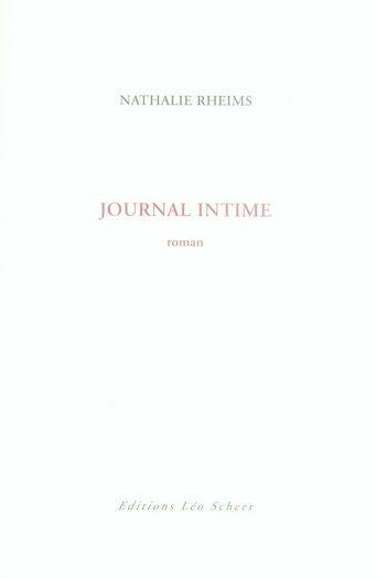 Journal intime  - Nathalie Rheims