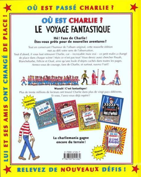 Livre O 249 Est Charlie Le Voyage Fantastique Martin border=