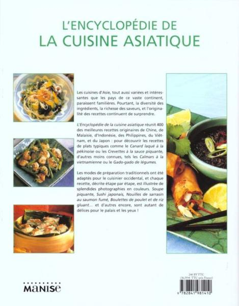 livre encyclopedie de la cuisine asiatique doeser linda. Black Bedroom Furniture Sets. Home Design Ideas