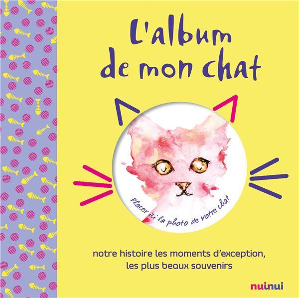 L'album de mon chat  - Collectif