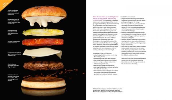 livre modernist cuisine art et science culinaire techniques de pointe des plus grands. Black Bedroom Furniture Sets. Home Design Ideas