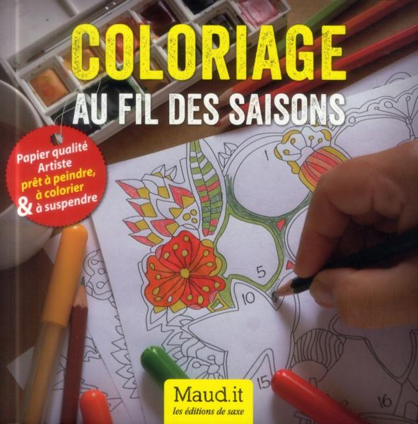 Coloriage au fil des saisons  - Maud It