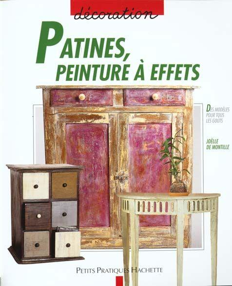livre patine peinture a effets jo lle de montille. Black Bedroom Furniture Sets. Home Design Ideas