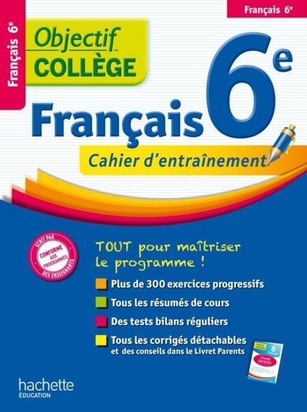 Objectif College Francais 6eme Isabelle De Lisle
