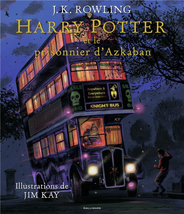 Harry Potter T.3 ; Harry Potter et le prisonnier d'Azkaban  - Joanne Kathleen Rowling  - Jim Kay