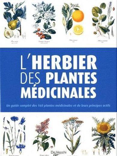 Livre L 39 Herbier Des Plantes M Dicinales Ticli Bernard