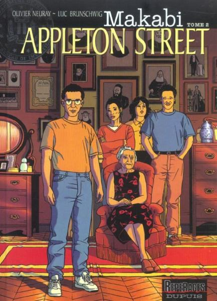 APPLETON STREET  - Olivier Neuray  - Luc Brunschwig