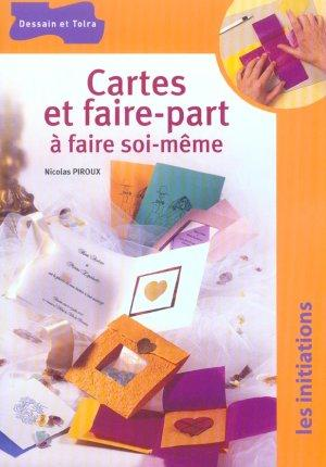 livre cartes et faire part a faire soi meme nicolas piroux acheter occasion 2004. Black Bedroom Furniture Sets. Home Design Ideas