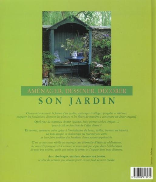 Livre amenager dessiner decorer son jardin collectif for Dessiner son jardin
