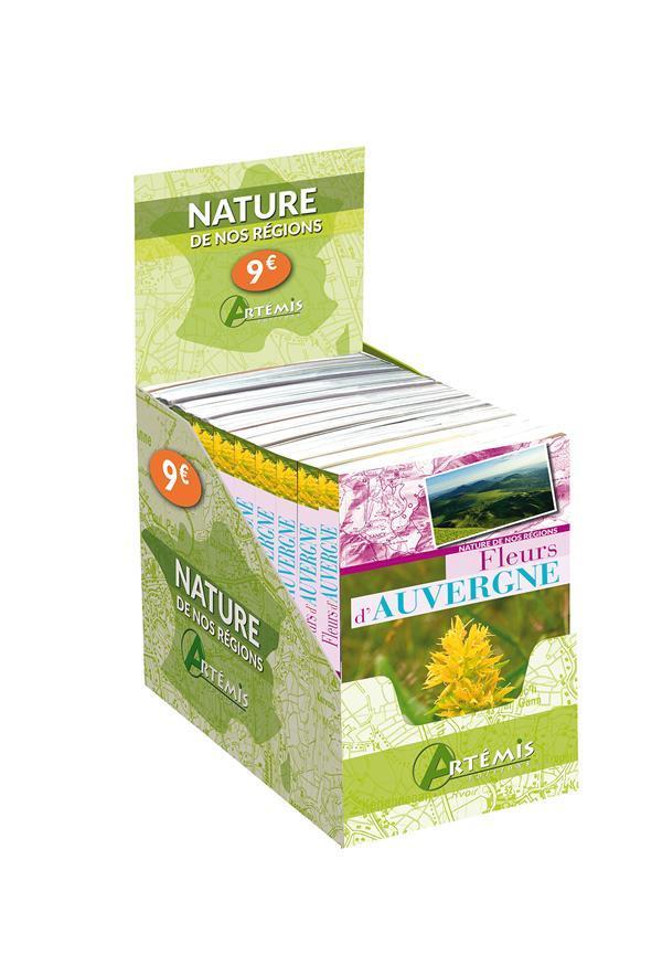 boîte fleurs d'auvergne 12 exemplaires - collectif - - france