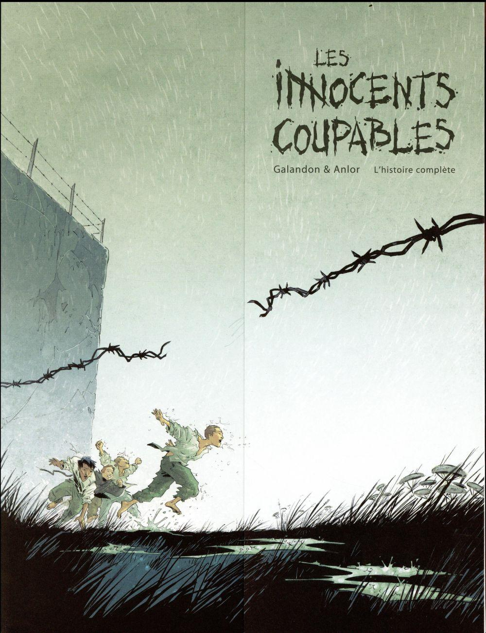 Les innocents coupables ; intégrale t.1 à t.3  - Anlor  - Laurent Galandon