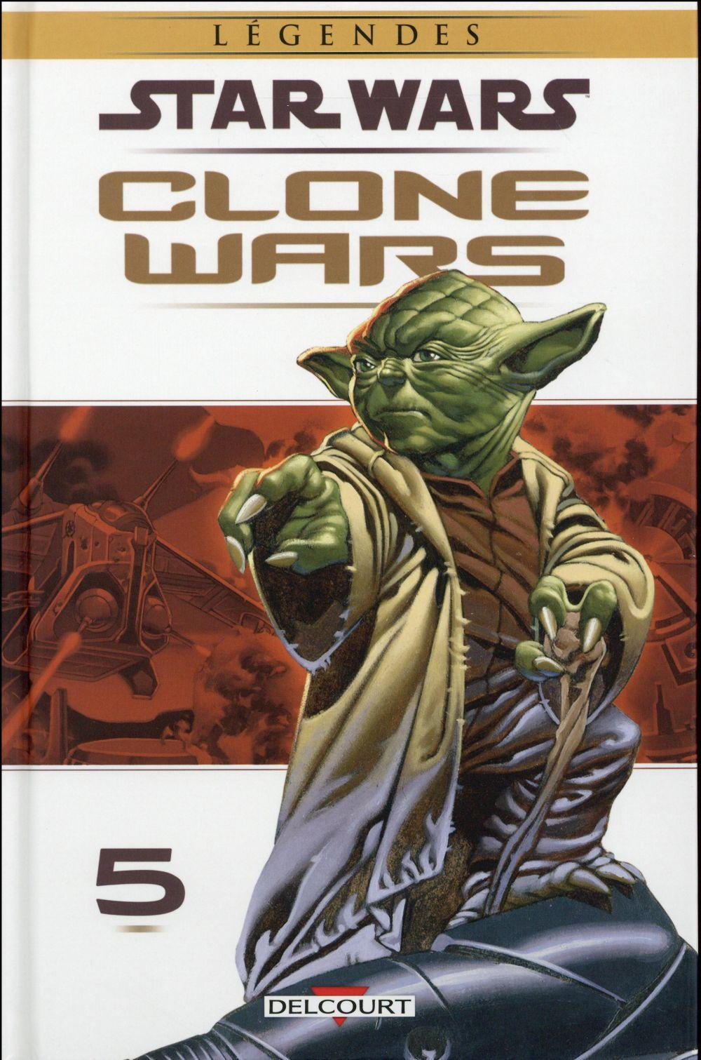 Star Wars - légendes ; clone wars T.5  - Collectif