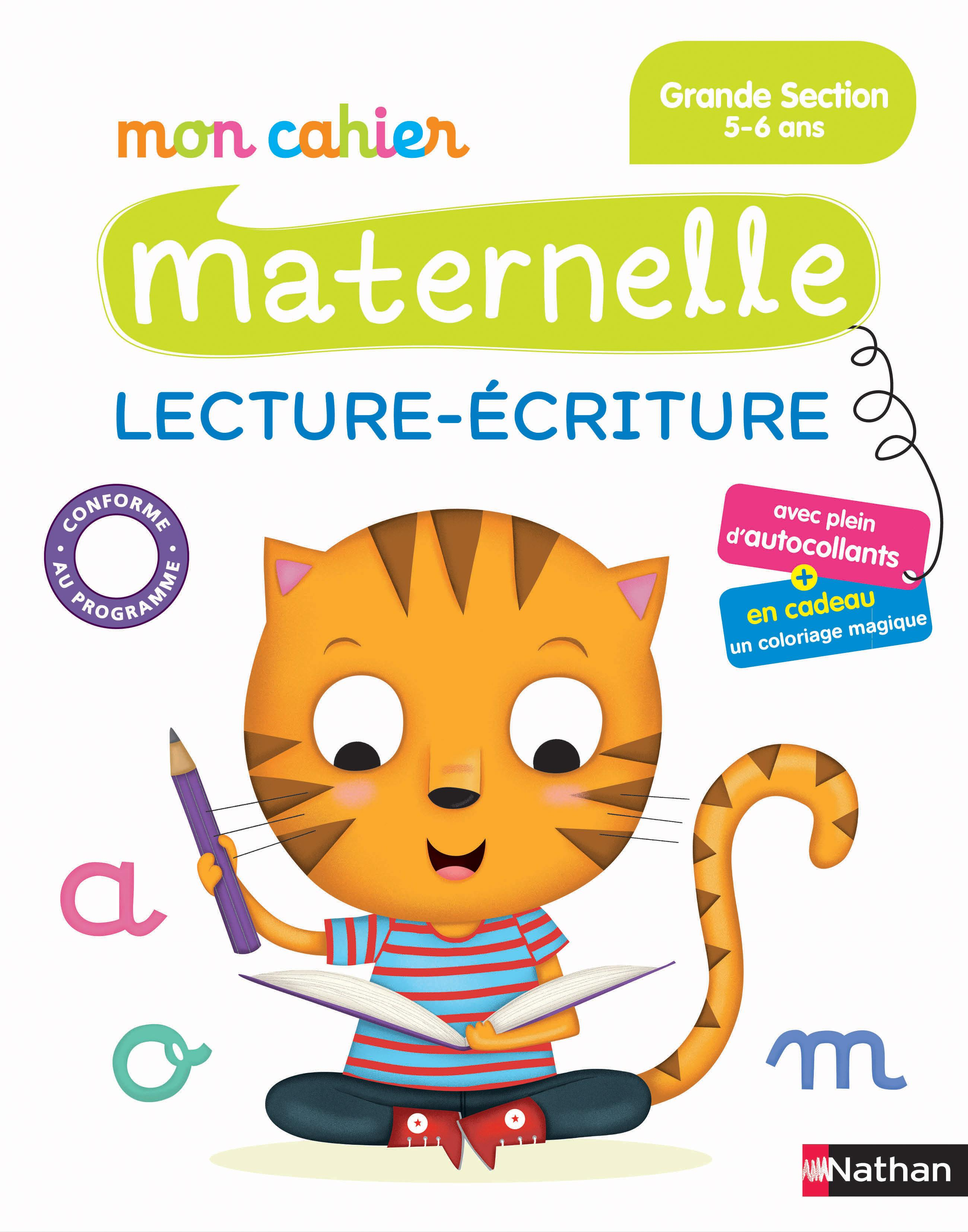 cahier de vacances maternelle pdf