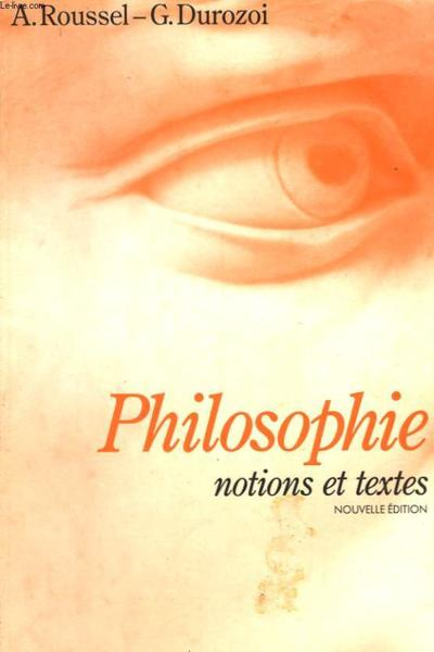 philosophie terminale l livre de leleve