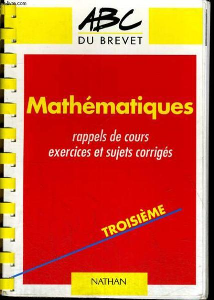 Abc Brevet Maths N.402  - Chantal Carruelle