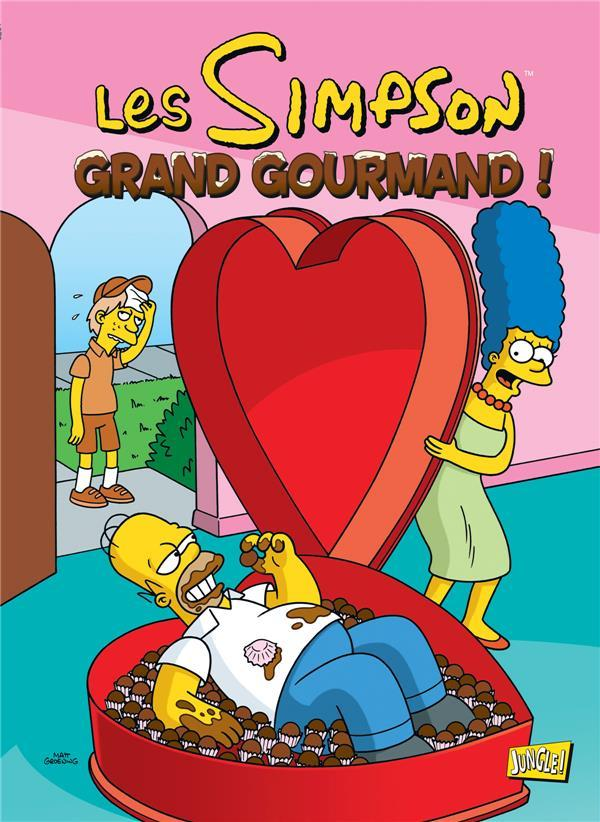 Les Simpson t.32 ; grand gourmand  - Matt Groening