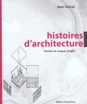 histoires d 39 architecture jean taricat livre france loisirs. Black Bedroom Furniture Sets. Home Design Ideas