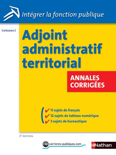 Adjoint administratif territorial annales corrig es - Grille indiciaire adjoint administratif 2014 ...