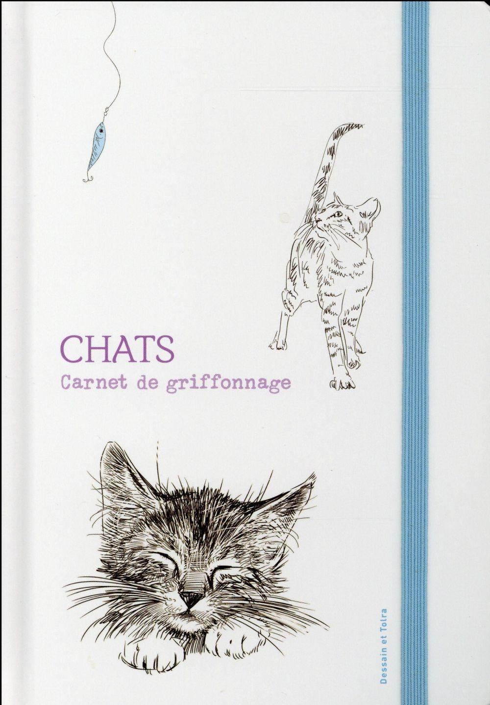 Carnet de griffonnages ; chats  - Collectif