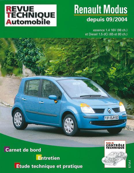 rta 689.1 renault modus essence et diesel Collectif