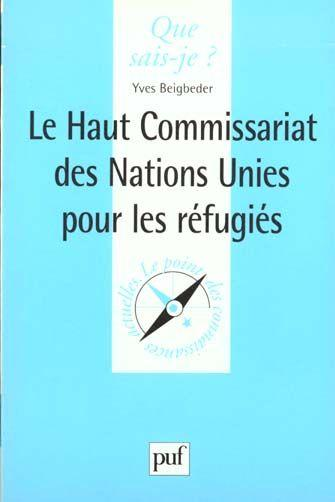 Haut commissariat des nations unies qsj 3489  - Yves Beigbeder