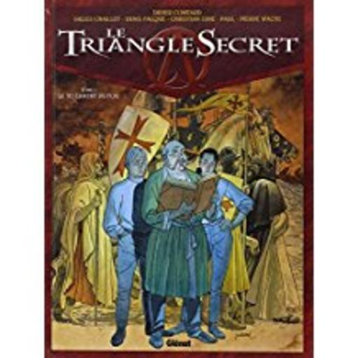 Le triangle secret t.1 ; le testament du fou  - Didier Convard