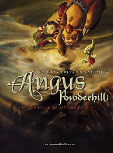 Angus Powderhill T.1 ; La Vallee Des Ames Tordues  - Vincent Bailly  - Luc Brunschwig