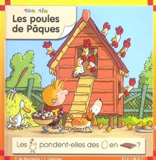 Livre les poules de paques bourgoing pascale de calarnou - Poules de paques ...