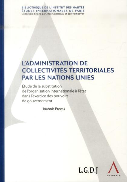 Vente  Administration de collectivités territoriales par les Nations Unies  - Ioannis Prezas