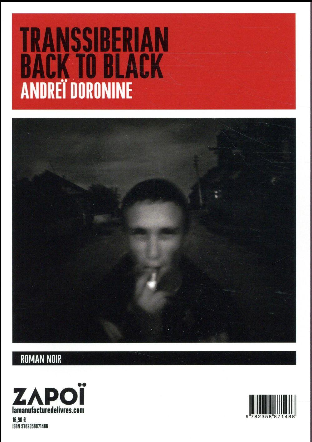 Transsiberian back to black  - Andrei Doronine
