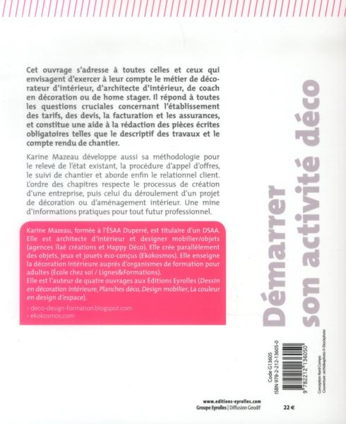 livre d marrer son activit d co devis factures