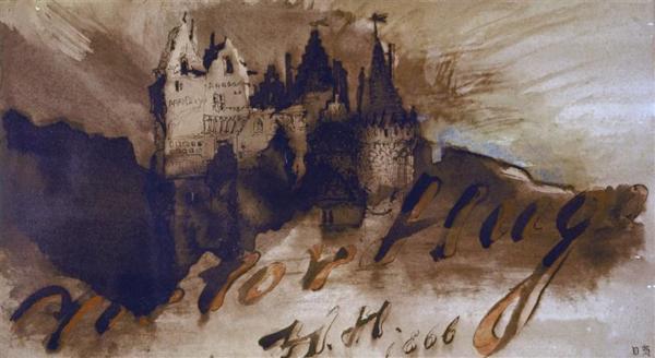 Victor Hugo, Château fort au crépuscule