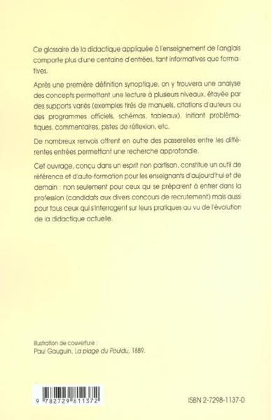 didactique de l anglais pdf