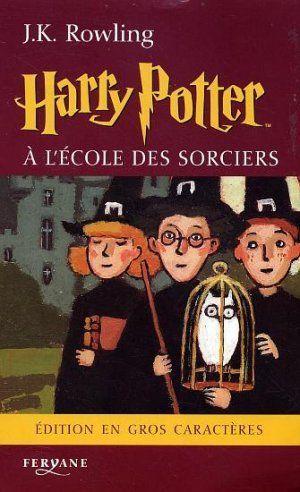 Harry Potter A L'Ecole Des Sorciers - Couverture - Format classique