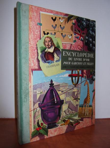 livre encyclop die du livre d 39 or livre 7 fleurs des champs gratte ciel parker b m. Black Bedroom Furniture Sets. Home Design Ideas