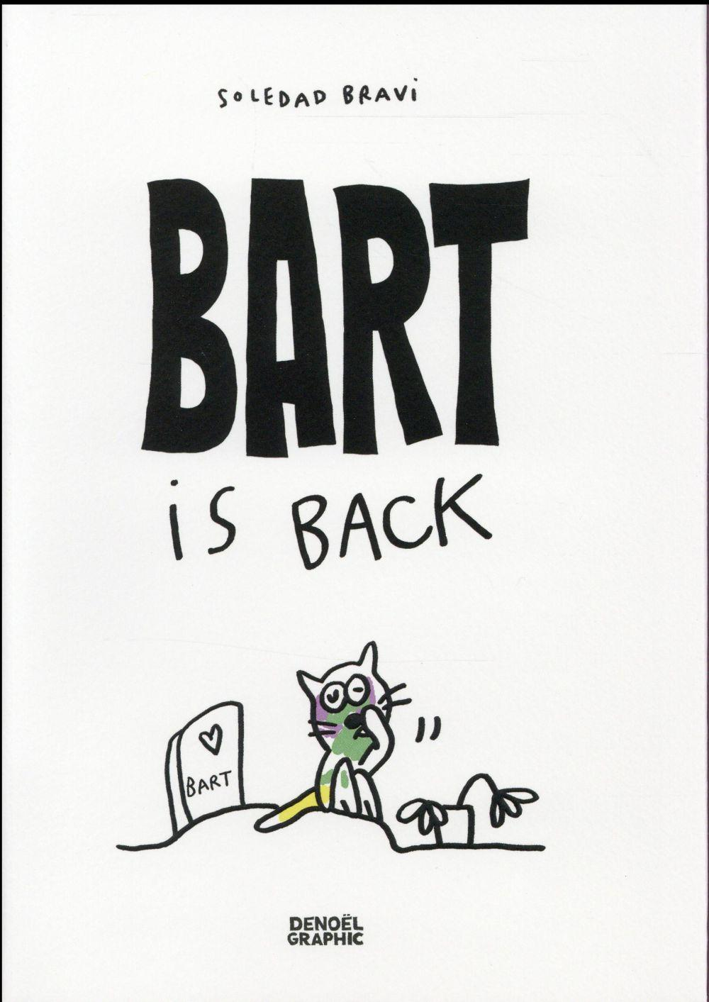 Bart is back  - Soledad Bravi