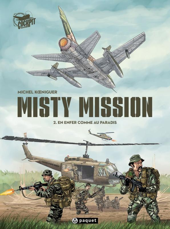 Misty mission T.2 ; en enfer comme au paradis  - Michel Koeniguer